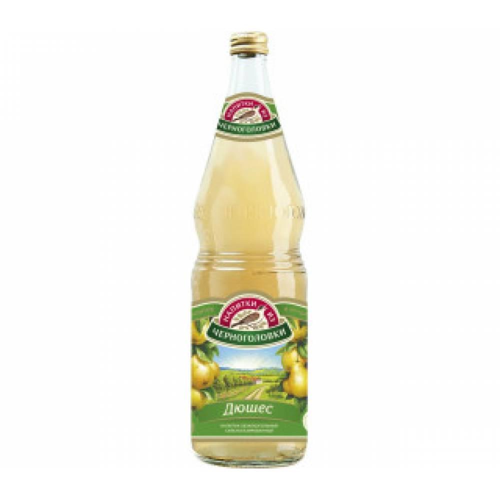 """Лимонад """"Груша"""" Черноголовка 0,5 л"""